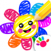 Toddler Drawing Academy🎓 Coloring Games for Kids v5.2.2 [MOD]