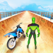 Superhero Bike Stunt GT Racing – Mega Ramp Games v1.18 [MOD]